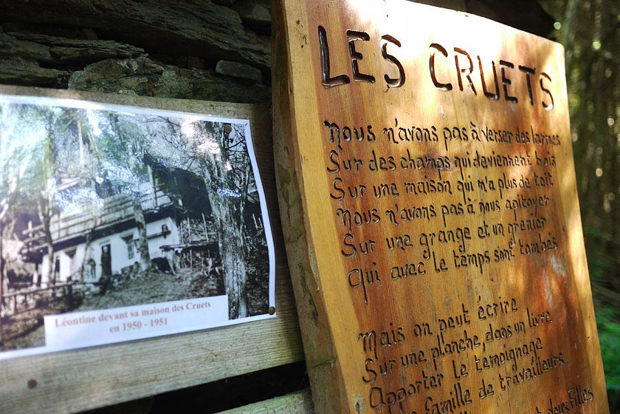 Traditions à découvrir près de votre location de vacances en Cœur de Savoie : les sentier des Pointières