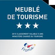 Le Gîte du Porche est labellisé 3 étoiles Meublé de Tourisme